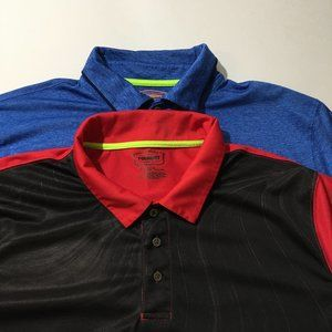 The Foundry Supply Co. Lot Of 2 Polo Shirts